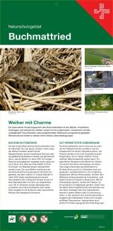Markierungs- und Informationstafeln Naturschutzgebiete